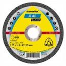 Disc debitare metale, Klingspor A 46 Extra, 115 x 22.23 x 1.6 mm