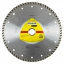 Disc diamantat, continuu, pentru debitare materiale de constructii, Klingspor DT 300 UT Extra, 125 x 22.23 x 1.90 mm