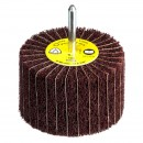 Perie abraziva cu tija pentru inox, metal Klingspor NCS 600 258935 granulatie 240 50x30x6 mm