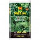 Pamant pentru plante verzi si palmieri Compo Sana 1143108066, 10 l
