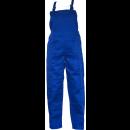 Pantaloni salopeta pentru protectie, tercot, albastru, marimea 58