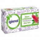 Sapun solid Igienol Aloe Vera, antibacterian, 90 g