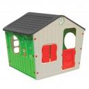 Casuta copii, pentru gradina, din plastic, interior / exterior, 140 x 108 x 115.5 cm