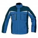Jacheta de iarna Dalgeco Allyn, impermeabila, nailon, albastra, cu gluga, marimea XL