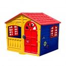 Casuta copii Beneton, pentru gradina, din plastic, interior / exterior, 140 x 111 x 115 cm