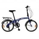 Bicicleta pliabila Velors V2055A, 20 inch