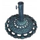 Suport umbrela, fonta, forma rotunda, D 43.5 cm
