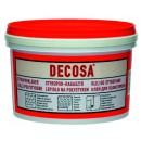 Adeziv pentru placi si profile decorative din polistiren, interior, Decosa, alb, 4 kg