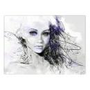 Tablou dualview DTB6741 Fata din vis, canvas, stil modern, 40 x 60 cm