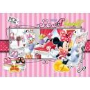 Fototapet copii duplex Disney Minnie Mouse 541P4 254 x 184 cm