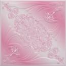 Tavan fals decorativ din polistiren C3005 clasic roz 50 x 50 x 0.3 cm