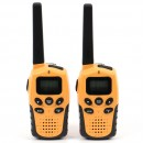 Statie radio PMR portabila PNI PMR R6, set 2 bucati, functie VOX, Dual Watch, scanarea automata a canalelor, Roger Beep