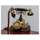 Tablou din panza, dreptunghiular, standard, PT0065, telefon antic, 50 x 65 cm