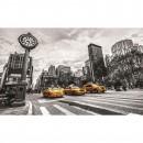 Fototapet duplex Taxi in New York 1171P4 254 x 184 cm