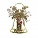 Decoratiune Craciun, aurie, SYLD17-001