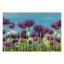 Tablou dualview DTB7297, Camp violet, canvas + lemn de brad, stil peisaj, 60 x 90 cm