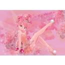 Fototapet copii duplex Disney Fairies pink 3233P4 254 x 184 cm