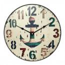 Ceas perete KLW824, analog, rotund, MDF, 30 x 4.5 x 30 cm