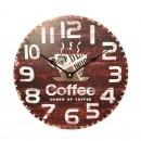 Ceas perete KLW821, analog, rotund, MDF, 30 x 4.5 x 30 cm