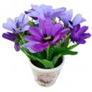 Floare artificiala CFP-25, mov, 20 cm