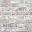 Tapet texturat, model caramida, Grandeco Vintage Brick A28902 10 x 0.53 m