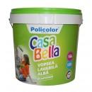 Vopsea lavabila interior, Casabella, alba, 15 L