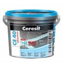 Chit de rosturi gresie si faianta Ceresit CE 40 maro Chocolate 58 interior / exterior 5 kg