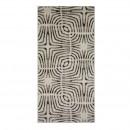 Covor living / dormitor Sintelon Mondo 48WQW polipropilena frize dreptunghiular gri 70 x 140 cm