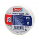 Banda izolatoare Tesa 53947, ignifuga, alba 20 m x 0.13 mm x 19 mm