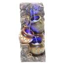 Fantana arteziana Grunman MZ03541AA, decoratiune gradina, cu pompa recirculare apa