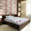 Saltea pat Bedora Confort Relax, cu spuma poliuretanica + memory, fara arcuri, 90 x 200 cm + pilota + perna