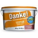Tencuiala decorativa Danke Textur ciocolatiu 25 kg