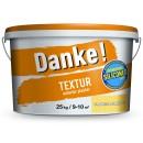 Tencuiala decorativa Danke Textur orange luminos 25 kg