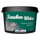 Vopsea lavabila exterior, Adeplast Sauber Weiss, alba, 15 L