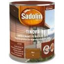 Impregnant pentru lemn Sadolin Tinova, nuc, pe baza de apa, exterior, 0.75 L