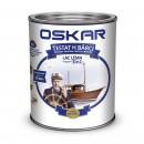 Lac pentru lemn Oskar Yacht, tec african, interior / exterior, 0.75 L