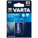 Baterie Varta High Energy 6LR61, 9V, Primary Alkaline Manganese (ZN/MNO2)