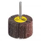 Perie abraziva cu tija pentru inox, metal Klingspor KM 613 12944 granulatie 80 40x20x6 mm