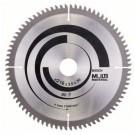 Disc circular, pentru aluminiu / lemn / plastic, Bosch 2608640447, 216 x 30 x 2.4 mm