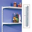 Vergea verticala, 1RG, metal, alb, 1500 mm, 2 bucati