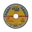 Disc debitare inox, Klingspor A 36 R Supra, 115 x 22.23 x 2 mm