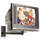 Suport TV, pe perete, SerEnd Star TVS 022, reglabil, 51 - 55 cm, 50 kg, negru