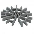 Distantier circular pentru armaturi verticale 25x4x12 mm