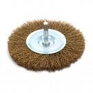 Perie circulara, cu tija, pentru otel, Peromex 5142G, diametru 100 mm