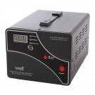 Stabilizator de tensiune cu servomotor Well 1000VA-WL