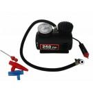 Pompa auto + alte obiecte gonflabile, electrica, 12V, cu 3 adaptoare