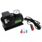 Pompa electrica auto, pentru anvelope si alte obiecte gonflabile, cu 3 adaptoare, 12 V