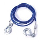 Cablu auto pentru tractare, otel, sarcina 1.8 tone, 2 carlige