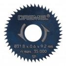 Disc circular, pentru lemn, Dremel 26150546JB , 31.8 mm, 2 bucati