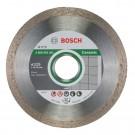 Disc diamantat continuu pentru debitare placi ceramice Bosch Standard for Ceramic, 115 x 22.23 x 1.6 mm